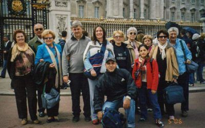 Micky Fiscina en Londres